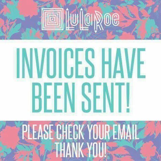 Best 25+ Invoices sent lularoe ideas on Pinterest Thank you - sending an invoice