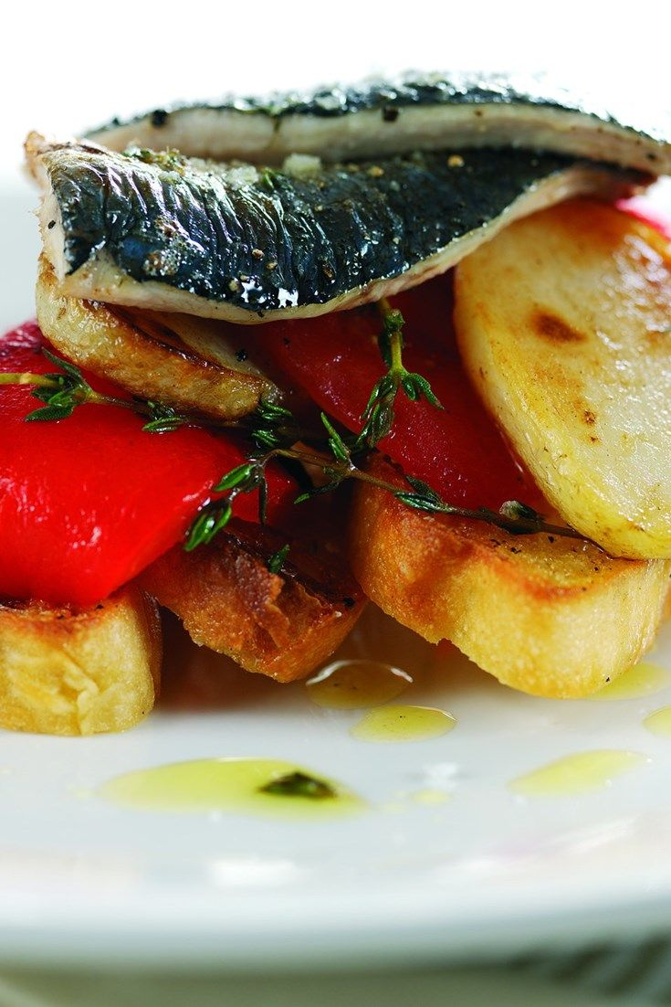 Sardines on toast is a classic British dish. Top chef Shaun Rankin reinvents the classic sardines on toast recipe by using focaccia bread