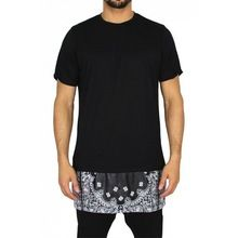 TSYK1060 Newest Style Customize Printing Bandana Zip T Shirt For Man  best buy follow this link http://shopingayo.space