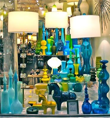 Mid century modern glass