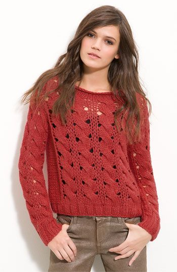 willow & clay cable knit sweater