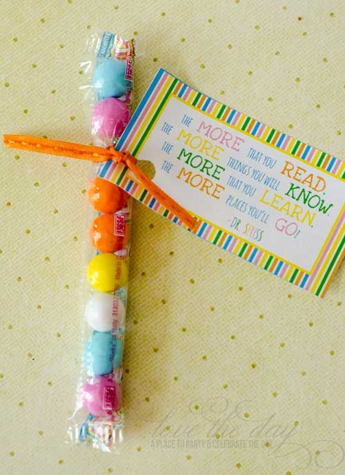 """this would make a good """"last day of school"""" gift --   Dr. Seuss Day -  By LINDI HAWS"""