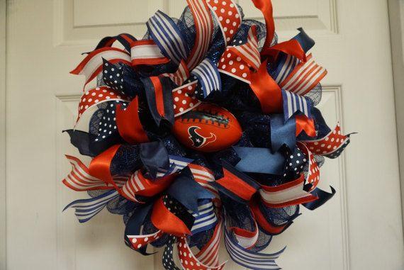 Texans Wreath-Mini Houston Texans Wreath-Mini Houston