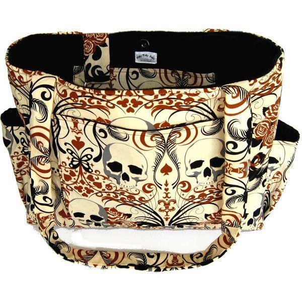 cool diaper bags,punk rock diaper bag,skull bag messenger bags,camouflage diaper bag