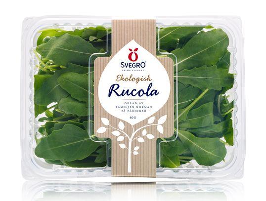 packaging of fresh vegetable. who can resist the freshness!  svegro