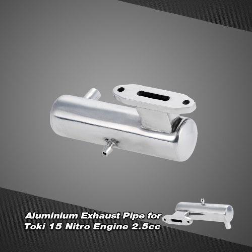 Aluminium Exhaust Pipe for Toki 15 Nitro Engine 2.5cc