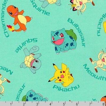 Pokemon Characters With Names Aqua Green