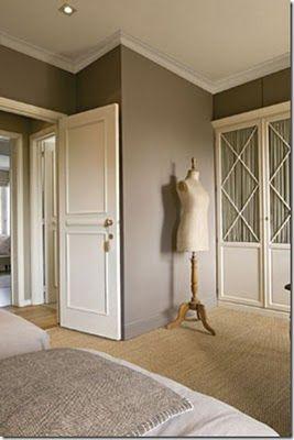 Another cute way to update old bi-fold closet doors
