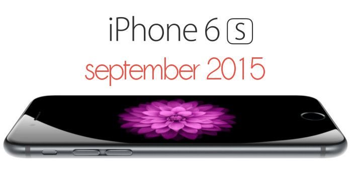 iPhone 6S release date in 2015 is a secret but I have discovered when it will be the iPhone 6S realease date.I explain many details in this awesome post