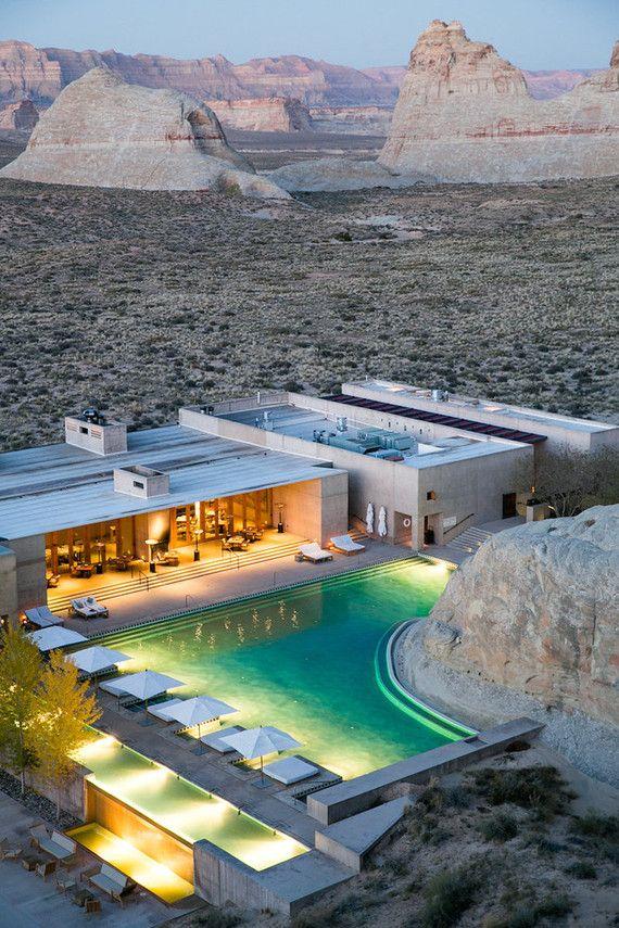 Luxury Amanigiri Resort in Utah.