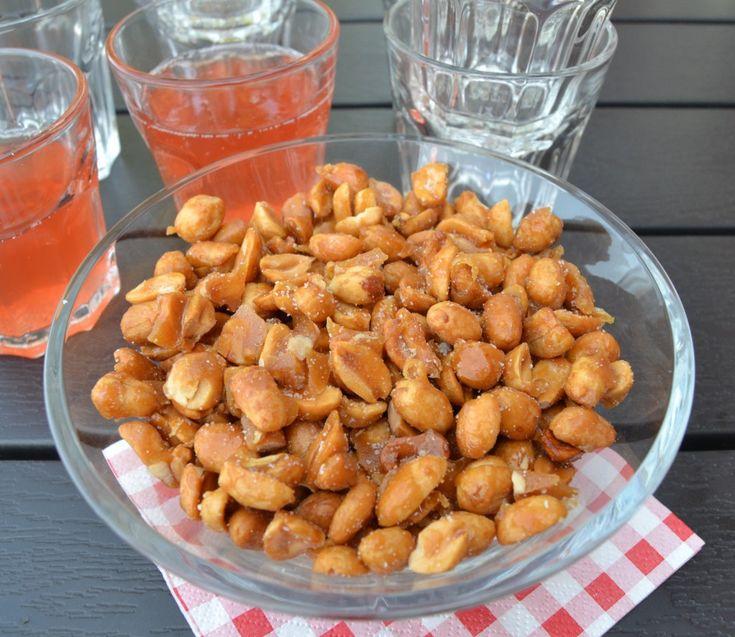 Honningristede peanuts