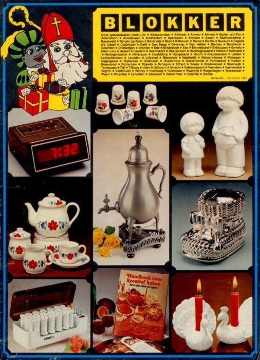 BLOKKER Sinterklaas folder 1981