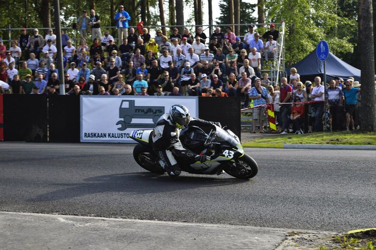 IRRC Imatra. No. 43 NAME: Herve Somson NAT: FRA CLUB/TEAM: - BIKE: Kawasaki  RACE 1: Place: 18. Laps: 10 Total time: 00:21:00.548 Difference: 1:57.949 Best lap time: 00:02:02.632 Best lap: 10 Speed: 141,367 Points: -  RACE 2: Place: 14. Laps: 10 Total time: 00:20:15.282 Difference: 1:26.282 Best lap time: 00:01:59.772 Best lap: 9 Speed: 146,633 Points: 2  IRRC SBK Imatra 2016 total points: 2 pts (18.)  #IRRC #Imatra #RoadRacing #Imatranajo #Superbike