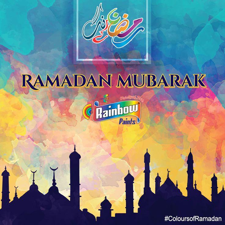 Happy #Ramadan #2016 to all our followers! #RamadanMubarak #RamadanKareem #ColoursofRamadan #ColoursofIslam #RainbowPaints