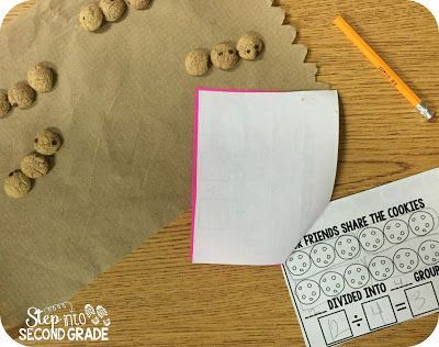 Dividing with Cookies and a FREEBIE | Step into 2nd Grade with Mrs. Lemons | Bloglovin'