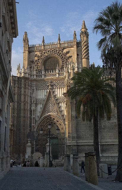 Seville Cathedral: South Transept,  Spain