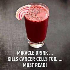 boisson miracle sans les peler 1 carrotte 1 betterave rouge 1 citron 1 pomme aussitot fait aussitot bu!!!!