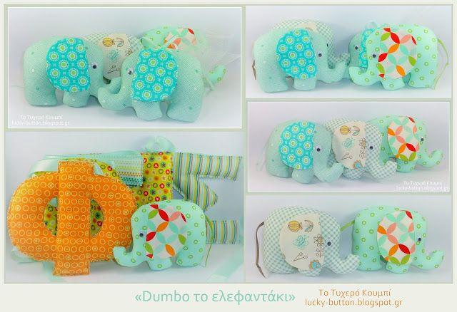 Το τυχερό κουμπί: Dumbo το ελεφαντάκι