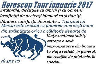 Horoscop ianuarie 2017 Taur