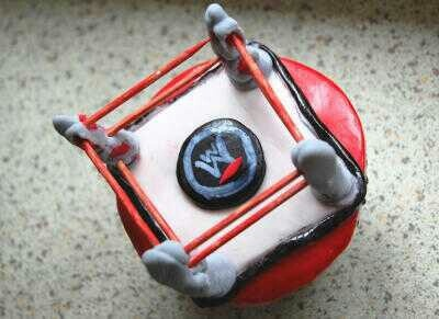 I'm going to elaborate on this and make wade barrett or the shield cupcakes :) .