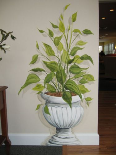 murals, trompe l'Oeil, decorative, ceiling murals, airbrushed, colourwashes,artistic painting