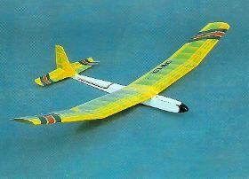 Kit Do Aeromodelo Planador Para Vôo Livre Canarinho - R$ 100,00
