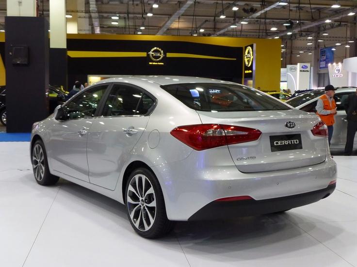 Kia Cerato 2013 rear