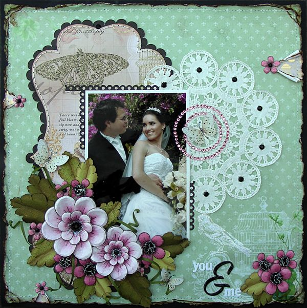you & me {Heartfelt Creations} - Scrapbook.com