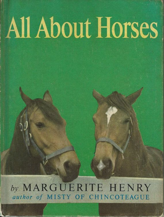 All About Horses  Marguerite Henry  1962 by ToysFromTheAttic