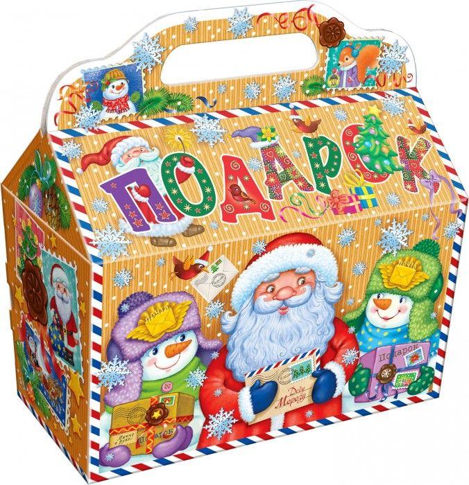 Картонная новогодняя упаковка. Большой ассортимент упаковки из картона для новогодних подарков