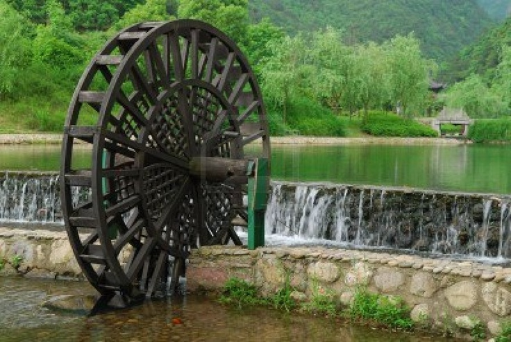 houten waterrad - Google zoeken