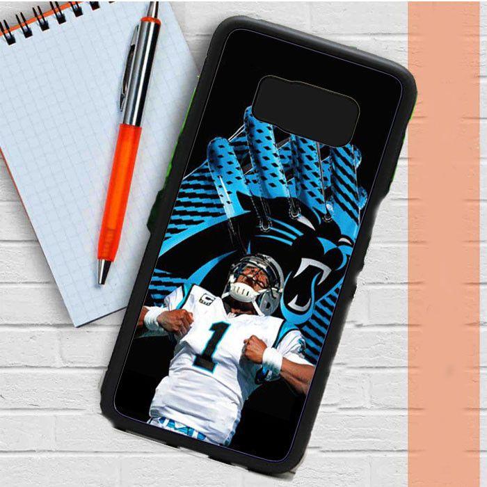 Cam Newton Nfl Panthers Samsung Galaxy S8 Case Dewantary