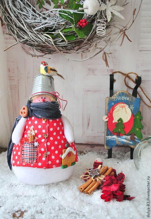 Купить Снеговички- лучший новогодний подарок. Тильда снеговик. - снеговичок, снеговик тильда, снеговик, снеговики