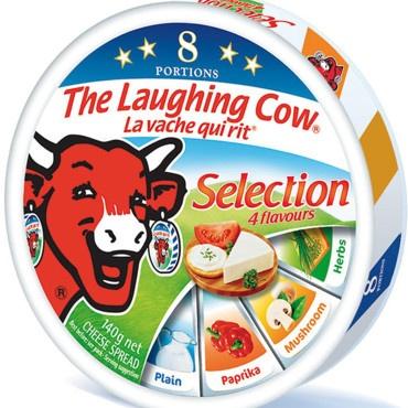 La Vache qui rit parfumée aux 1001 saveurs    Paprika, herbes, champignons, il n'y avait plus qu'un pas à franchoir pour découvrir la Vache qui rit en 1001 autres saveurs que l'oignon !   http://www.plurielles.fr/recettes-cuisine/diaporama/decouvrez-la-saga-de-la-vache-qui-rit-en-images-6298202-402-RElBX05VTUVSTyA4.html