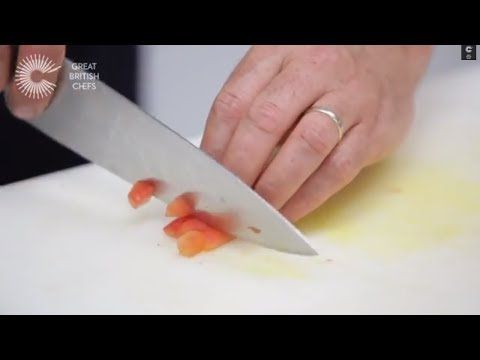 How to make tomato concasse with Martin Wishart - YouTube
