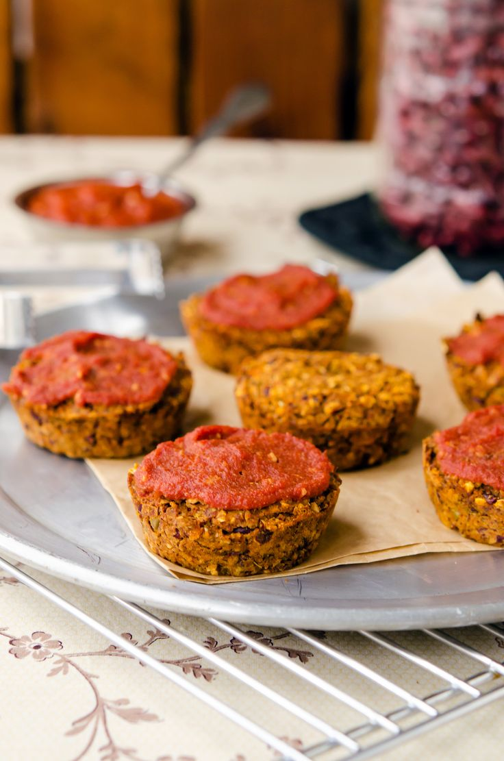 Vegan Meatloaf Bites Recipe - Happy Herbivore Light and Lean
