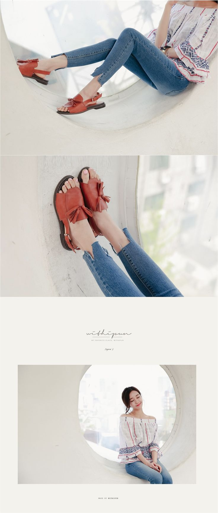 By Kodding Shoes Flat Shoes Sandals Korean Style Korean Fashion Street Style