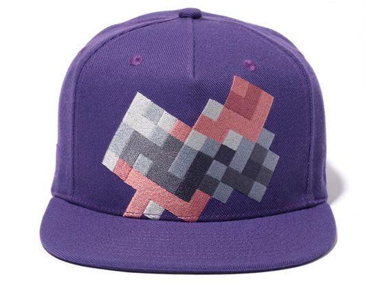 """CAVE EMPT """"Purple Mosaic"""" Snapback Cap"""