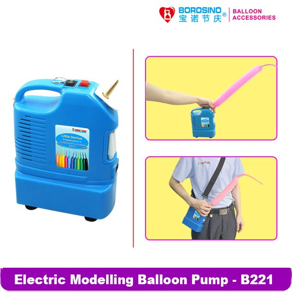 B221  Wedding decoration Modeling Balloon Inflator Pump ( no battery)