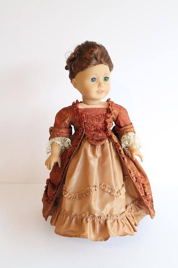 American Girl Doll Clothing 18th Century doll costume Marie