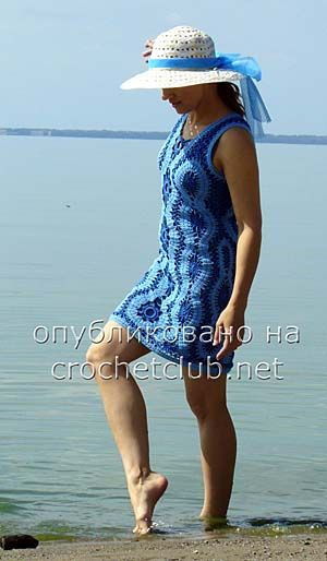 платье голубая жемчужина 2