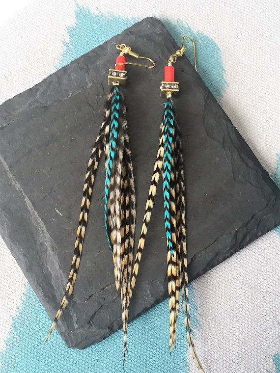 29 best Wilderman's Handmade Feather Earrings images on ...