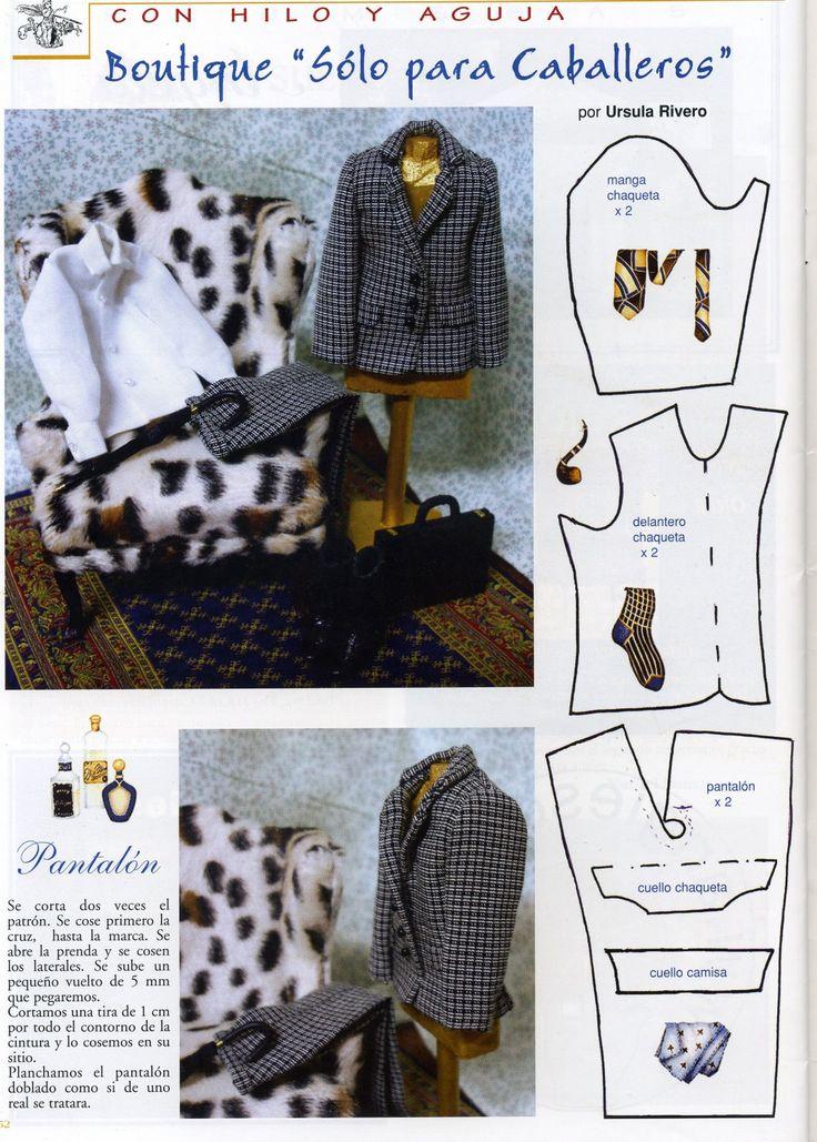Pattern Clothes for Ken.heel veel 700 verschillende uitzoeken