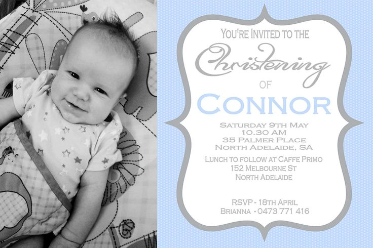 Christening / Baptism Invitation $12AUD emailed to you - you print and frame PAYPAL ACCEPTED!  Order here  www.facebook.com/readyforprint