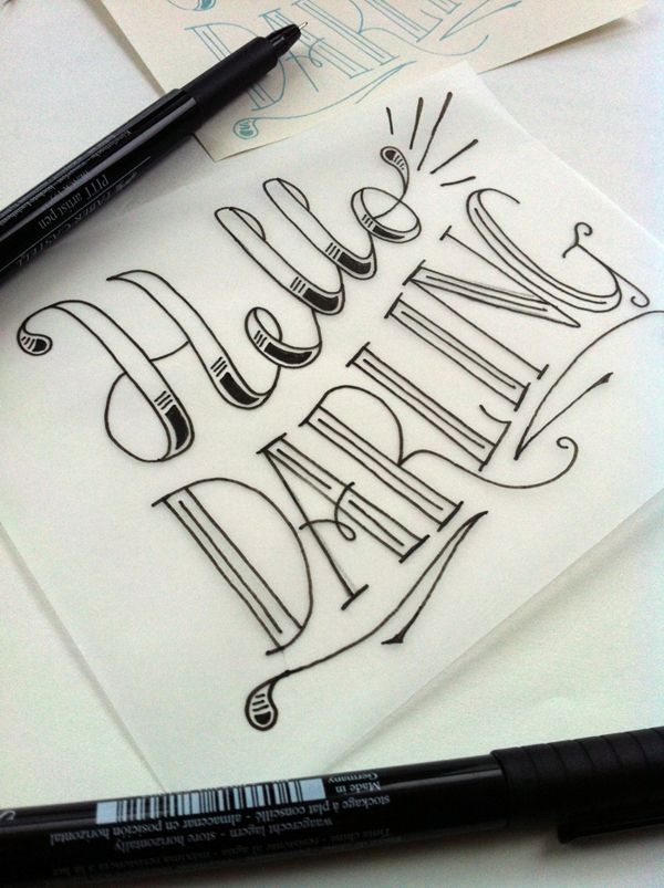 ~Hello Darling Love the FONT!