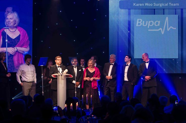 Winners of the Karen Woo Surgical Team Award Surgical Telementoring in Tanzania, Northumbria Healthcare NHS Foundation Trust