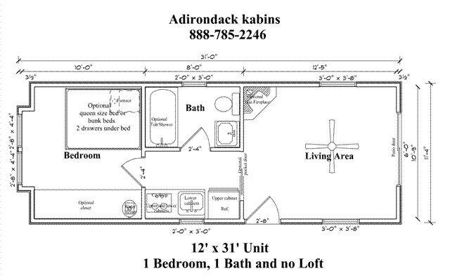 Attic Apartment Floor Plans 12 X 30