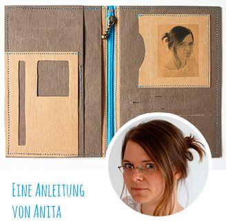 DIY-Anleitung Brieftasche aus SnapPap nähen - von @anscheiner