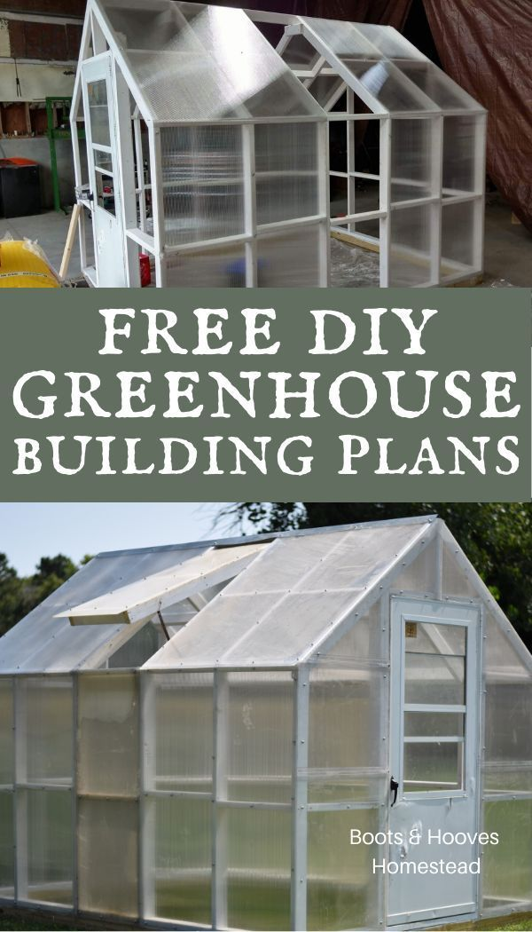 Start Gardening In A Diy Greenhouse With These Free Plans This Small White Greenhouse Adds A Nice Aesth Diy Greenhouse Plans Build A Greenhouse Diy Greenhouse