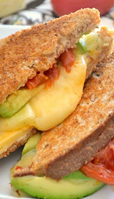 Loaded Grilled 4-Cheese Sandwich
